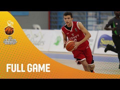 Rwanda v Egypt - Full Game - FIBA U16 African Championship 2017