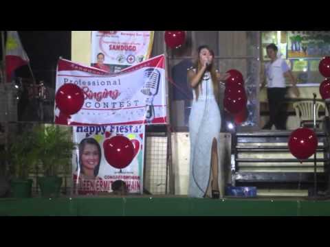 Fame Gomez sings Listen @ San Juan, Balayan, Batangas  Grand Champion NOV. 2015