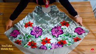 Eşarptan yazlık bluz yapımı/Scarf