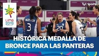 Histórica medalla de bronce para Las Panteras en los Juegos Panamericanos de Lima 2019
