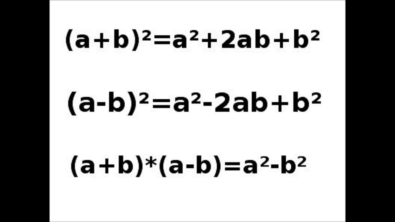 Mathe Song Binomische Formeln