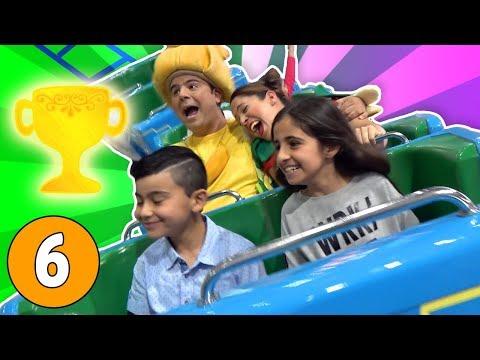 فوزي موزي وتوتي - مسابقات مع المندلينا - الرابحين - Winners' Fun Day