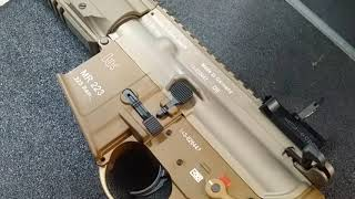 """HK MR223A3 11"""" RAL8000 quick look at the gun"""