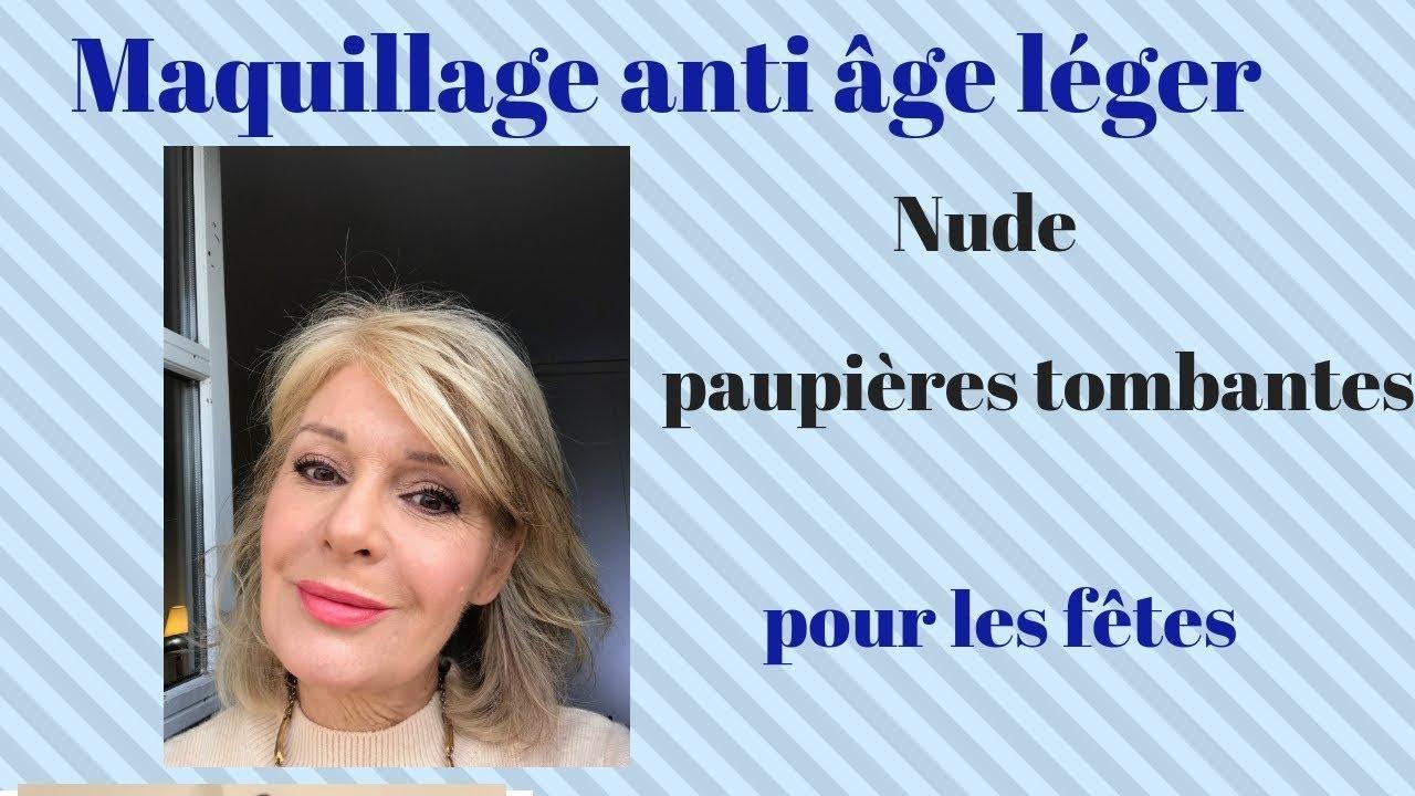 Maquillage Paupières Les Ans Youtube Léger Tombantes Fêtes 50 Pour TqRwTxUzr