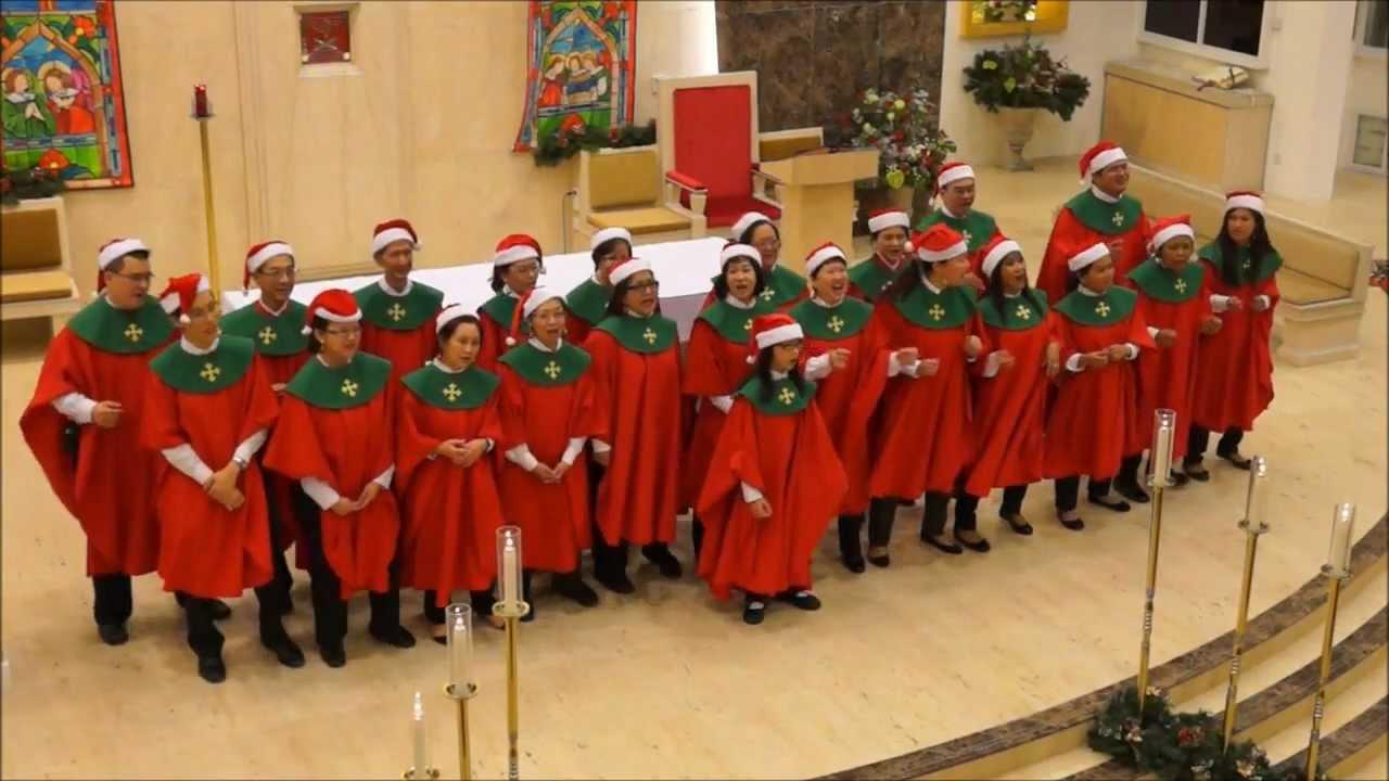Emmanuel Choir Church Of St Bernadette Have A Holly