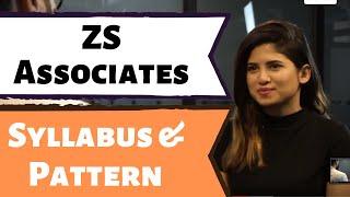 ZS Associates Syllabus and Online Test Pattern