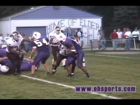 EHSports.com - Bradley Glatthaar scores for Elder on a two-point conversion