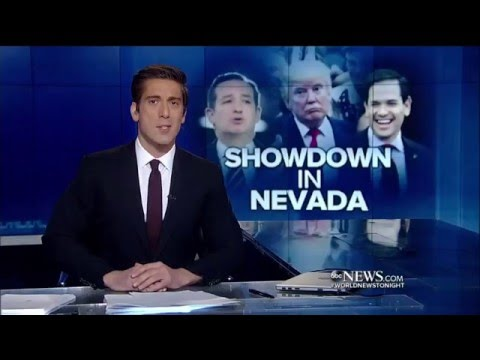 ABC World News on the NV Caucus