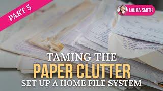Paper Clutter Challenge, Part 5 Thumbnail