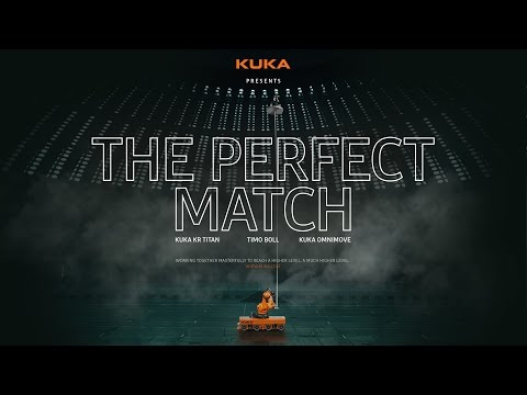 The Perfect Match: Timo Boll and KUKA