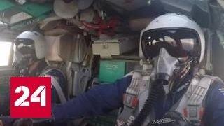 Самолеты ВКС России уничтожили 5 складов и 6 командных пунктов ИГИЛ. Видео