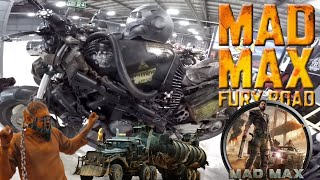 MAD MAX atbraucis uz MANCHESTER MOTORCYCLE SHOWU ) !!!