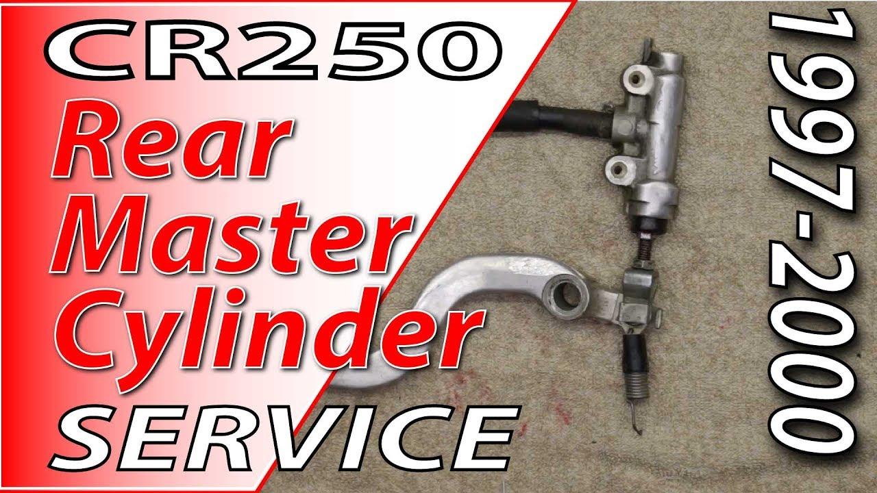 Brake Oil Reservoir Master Cylinder Rear For Honda Cr 250 R Cr250r 1987-2001