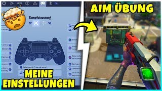 My Settings + Aim Improve Playground Exercise | Tips & Tricks - Fortnite Battle Royale