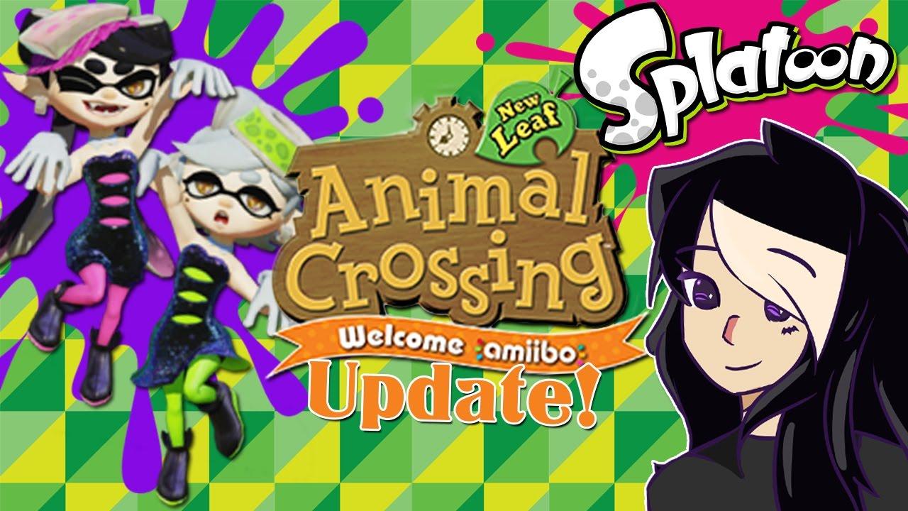 Animal Crossing New Leaf Update Squid Sister Amiibos Callie