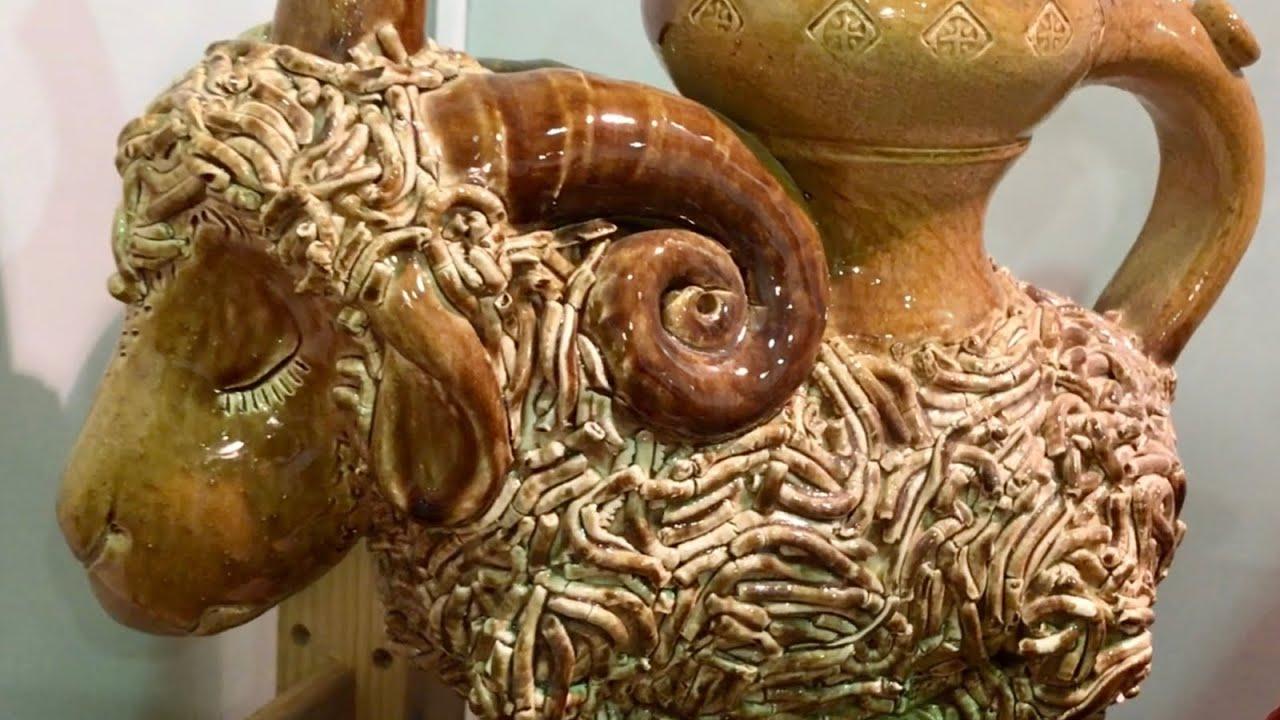 🍯 Полифигурная керамика Юрий Гефенедер Мастер из Скопина Волшебство керамики