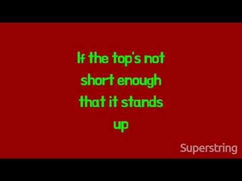 The Vandals - I've Got An Ape Drape (Lyrics On Screen)