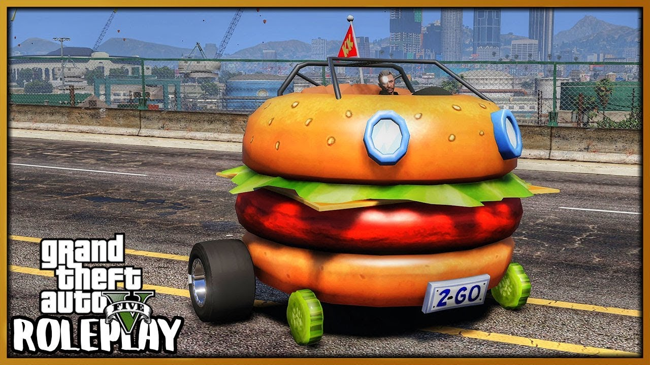 GTA 5 Roleplay - Hilarious Burger Car | RedlineRP #759 thumbnail