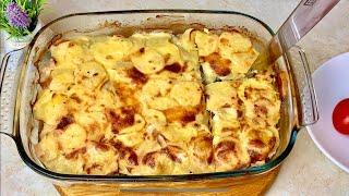Вкуснейший Ужин без возни и заморочек Готовим Просто Вкусно Быстро Картошка и Куриное филе