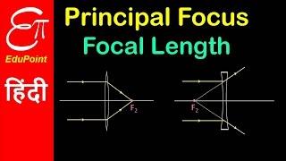 Principal Focus and Principal Focal Length | video in HINDI