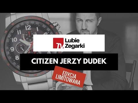 ⚽ Citizen AT8129-80E Jerzy Dudek Edycja Limitowana | LUBIĘ ZEGARKI TV
