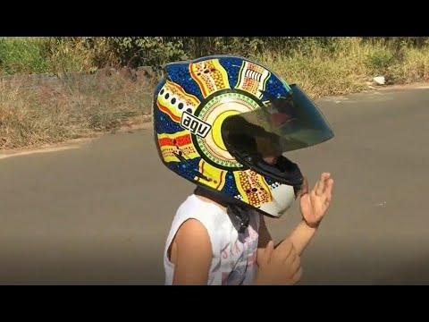 Pilotando Moto Ninja