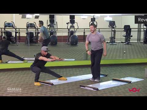 Slideboard Workout — Aric Sperling