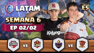 CRL LATAM: Red Canids vs Mad Lions | Vivo Keyd vs Sandstorm