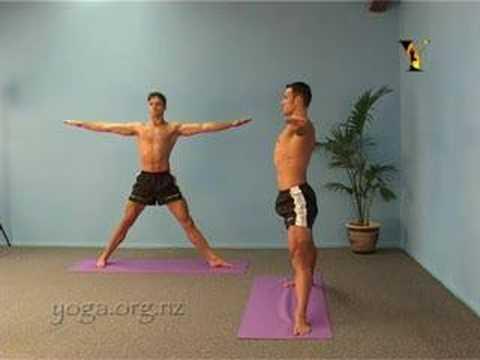 Yoga Asanas - Triangle Pose Trikonasana Asana