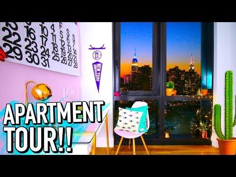 NYC Apartment tour 2017!