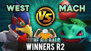 The Big Balc - Winners R2 - TEMPO Westballz (Falco) VS Machiavelli (Ivysaur)