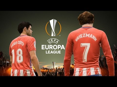 FIFA 18 - Olympique de Marseille vs Atlético Madrid - Final UEFA Europa League Gameplay HD