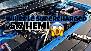 SUPERCHARGED CHALLENGER 5.7 HEMI By demon performance!