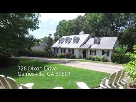 726 Dixon Drive Gainesville GA Marketing Film