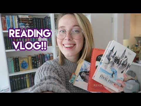 READING VLOG: Long Weekend & 3 Book Edition!