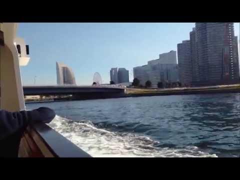 "The ""Sea Bass"" boat trip from Yokohama Bay Quarter to Yamashita-park"