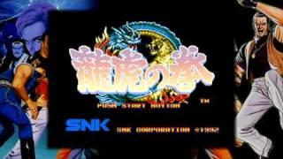 "PS3 / PSP ""龍虎の拳"" on NEOGEO Station"