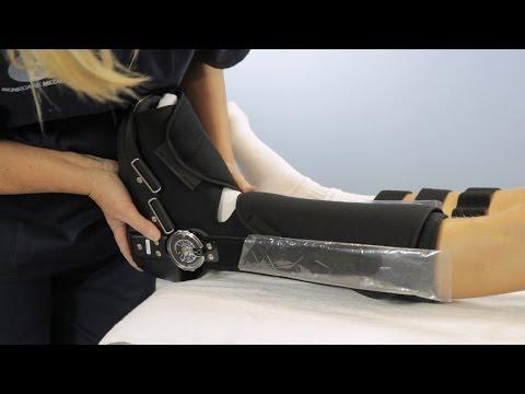 Benecare Range Of Motion (ROM) Walker Boot: How To Apply
