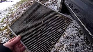 skoda Rapid Как заменить воздушный фильтр салона