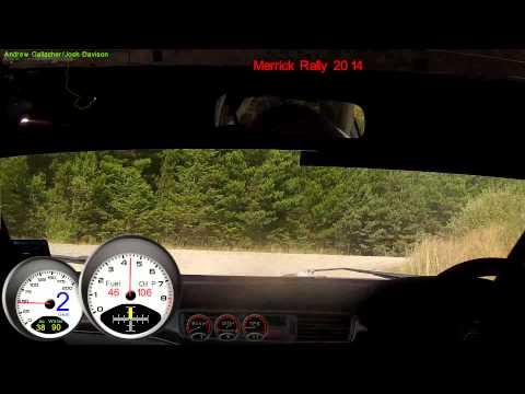 Andrew Gallacher / Josh Davison Merrick rally 2014 stage6