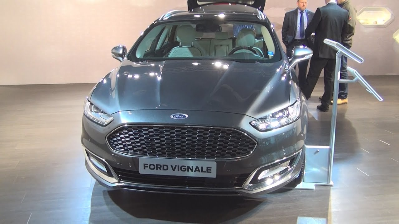 Ford Mondeo 2015 Interior >> Ford Mondeo Vignale AWD Silver Metallic (2016) Exterior and Interior in 3D - YouTube