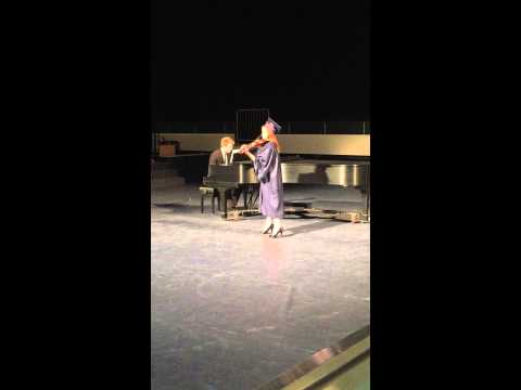 "Lindsey's Performance Of ""Take Flight"" At Her Graduation"