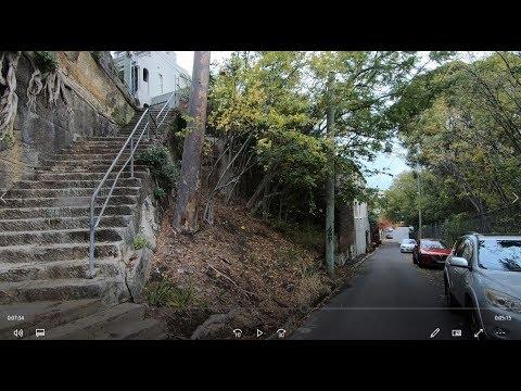 SYDNEY WALK - GLEBE TO SYDNEY HARBOUR (1080p 60 Fps)
