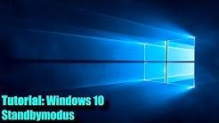 Windows 10 Standbymodus deaktivieren / aktivieren / einstellen