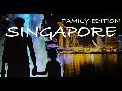 Singapore travel guide city of the future (family edition)