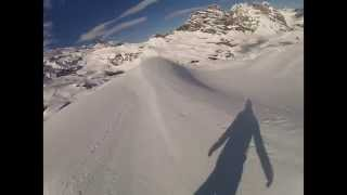 MAY POWER SNOWBOARDING SWITZERLAND ON A GLACIER Thumbnail