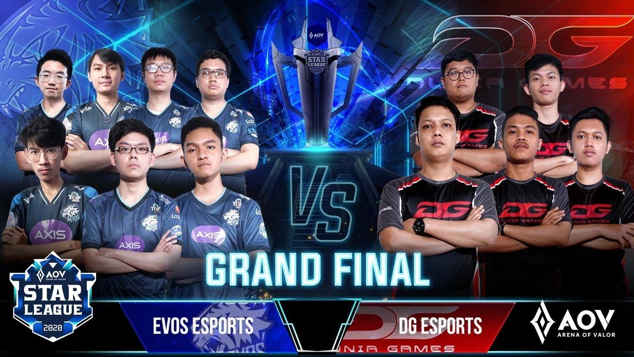 Grand Final ASL 2020 Season 4 - DG ESPORTS vs EVOS ESPORTS