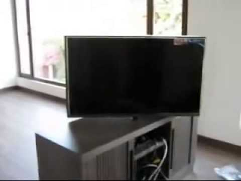 sistema giratorio para tv