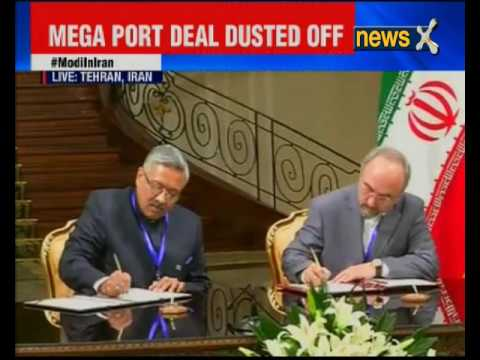 India inks Chabahar port deal with Iran