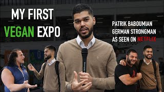 My First Vegan Expo - Meeting Netflix Game Changers Strongman & More